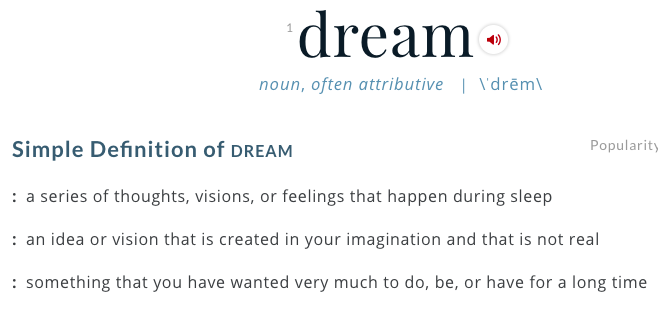 The Elusive Dream*